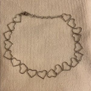 Brandy Melville Heart Necklace